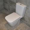 Luxury Ensuite Installation Toilet Detail