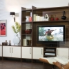 Walnut and Rialto Oyster TV Unit