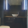 AQUADI Anthracite Gloss Furniture With Sit On Counter Top Basin
