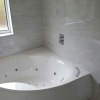 Corner Bath With Whirlpool & Colour Therapy Lighting
