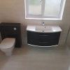 Pelipal Casca Wall Hung Basin Unit With LED Lights