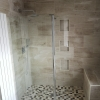 Luxury Walk In Wet Room Including Shower Alcove And Seating Area