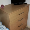 LOCANO OAK Four Drawer Unit