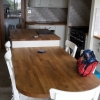 Solid Oak Breakfast Bar & Seating Area