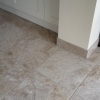 Kitchen Floor Tiling With Matching Skirting
