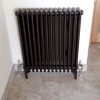 ZEHNDER Charleston Copper-Black Hammered Finish Radiator