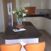 Luxury Fitted Kitchen Island Seating Area