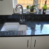 Solid Marble Kitchen Polished Sink Cut Out