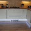 Luxury Fitted Kitchen With Plinth Strip Lighting