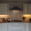 Luxury Fitted Kitchen With Under Cabinet Wall Lighting
