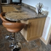 Luxury Fitted Kitchen Seating Area