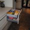 Luxury Kitchen Installation - Concealed Third Drawer Detail