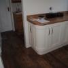 Luxury Kitchen Installation - Curved Base Detail