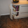 Luxury Kitchen Installation - Curved Base End Storage Solution