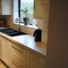 Luxury Kitchen Installation - Solid Surface Worktop Detail