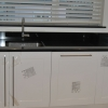Luxury Kitchen Installation - M STONE Worktop & High Gloss Ivory
