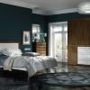 Apex Premier Noce Marino and White Gloss Bedroom