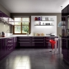 Apex Valencia Aubergine Kitchen