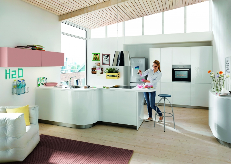 Schuller GALA Crystal White By Complete Kitchens