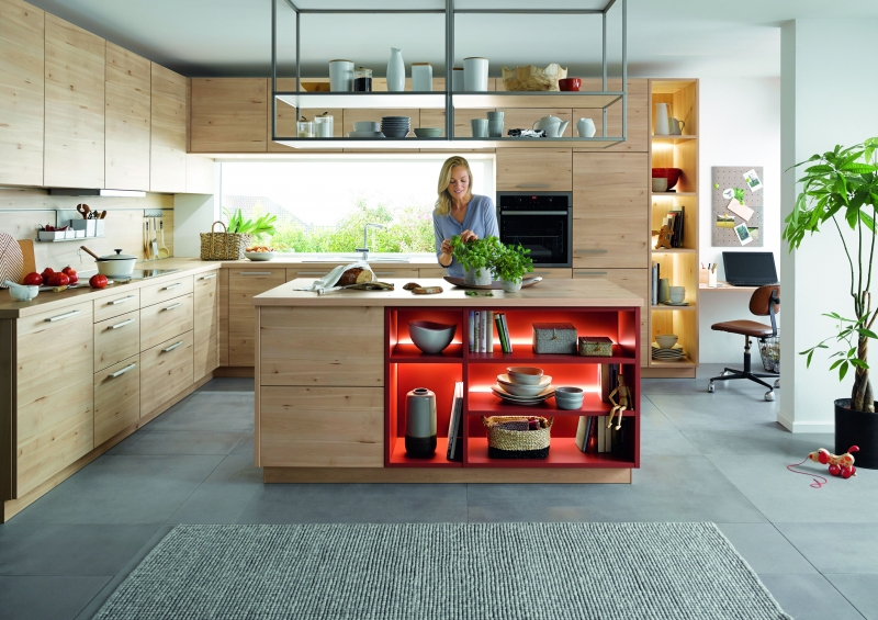 Schuller LIMA Norway Maple Effect By Complete Kitchens