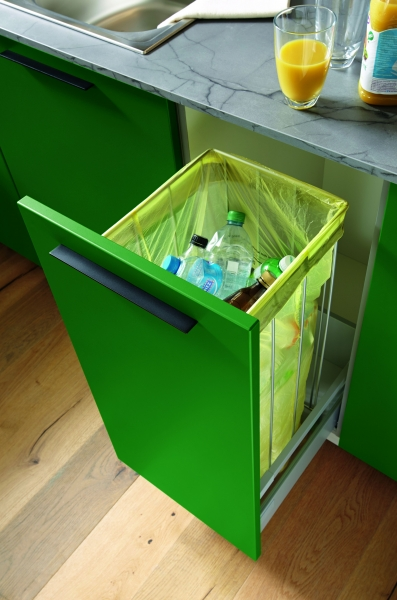 Schuller Pull Out Waste Bag Unit By Complete Kitchens