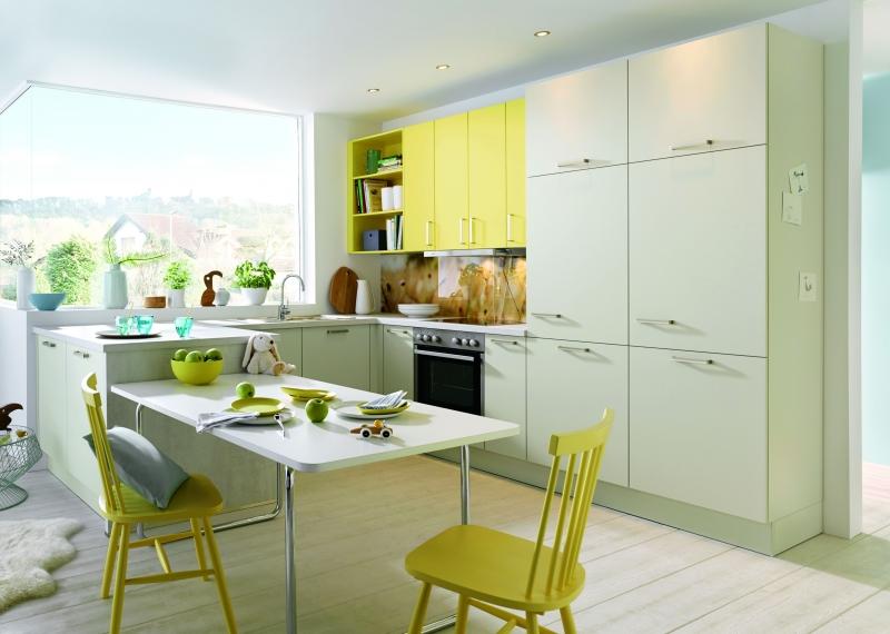 Schuller UNI MATT Crystal Grey Matt By Complete Kitchens