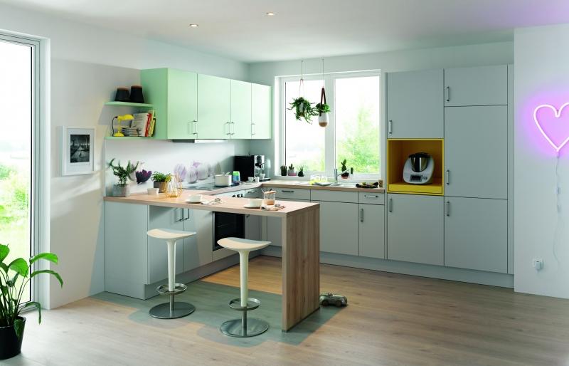 Schuller UNI MATT Stone Grey Matt By Complete Kitchens