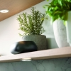 Schuller 25mm Floating Support Panel Shelves With Built In Spotlights By Complete Kitchens