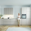 Schuller SIENA Sand Grey Matt Velvet By Complete Kitchen