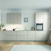 Schuller SIENNA Sand Grey Matt Velvet By Complete Kitchen