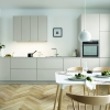 Schuller SIENNA Sand Grey Matt Velvet By Complete Kitchens