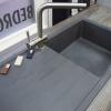 Essentials-Gunmetal-Grey-Linear-Single-Bowl-Sink