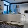 Schuller ALEA Crystal White Kitchen